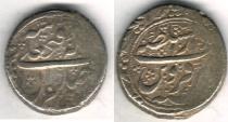 Ancient Coins - ITEM #35387 QAJAR (IRANIAN DYNASTY), FATH'ALI SHAH (AH 1212-1250), AR SILVER QIRAN, Qazvin MINT, 124x AH, ALBUM #2894/ KM#710 (TYPE E), SCARCE MINT