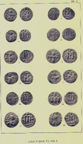 World Coins -  Item 3977, Stanley Lane Poole's Catalog of Oriental coins VOL 9 (ADDITIONS to the Oriental Collection 1876-1888) O/P RARE 1967 Vols. I--IV