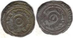 Ancient Coins - ITEM #1416 FATIMID, AL-AZIZ AH 365-386, AR SILVER 1/2 DIRHAM, MINT & DATE MISSING! (SCARCE) , ALBUM 705