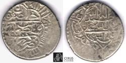 Ancient Coins - Item 32480 Safavid Dynasty: PERSIAN KINGS: Tahmasp I (AH 930-984) silver Shahi, Kirman mint, AH 949 (AD 1543), Album #2599, sharp strike. good very fine, rare mint