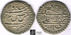 Ancient Coins - ITEM #32415, SAFAVID DYNASTY: SHAH SULTAN HUSSEIN or Husayn (AH 1105-1135) SILVER ABBASI, Tabriz MINT, AH1131 (AD1718), ALBUM #2683.1, KM 282 (type D), VERY IMPRESSIVE STRIKE!