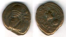 Ancient Coins - Item #5349 Ancient Persia, Elymais Dysnasty, Orodes III (2nd century AD), AE drachm, (De Morgan Types 23/4), van't Haaff 16.1-1.1