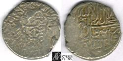 Ancient Coins - ITEM #32425 SAFAVID DYNASTY: MUHAMMAD KHUDABANDAH (AH 985-995) SILVER 2-SHAHI /or Muhammadi, Tabriz MINT, DATED AH 993 (1586 AD) , ALBUM #2620 TYPE B