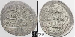 Ancient Coins - Item #32466, OTTOMAN OCCUPATION OF GEORGIA: AHMAD III, AR abbasi, TIFLIS mint, AH 1115 (AD1703), Album 2708 (type B), KM 7, BENNETT 744, RARE, GOOD V.F.