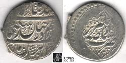 Ancient Coins - ITEM #34153, IRANIAN SILVER COIN, KARIM KHAN ZAND, 2-ABBASI, TABRIZ MINT, AH 1183/AD 1769, TYPE C, KM #523, ALBUM 2796. good VF/XF. NICE OBVERSE!! Pleasing Reverse!!