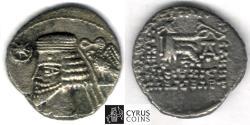 Ancient Coins - Item #19676, Parthian Kings: Arsaces XXI: Phraates IV (38-2 B.C), AR drachm, Sellwood #54.7, Sear 4747, Ecbatana mint, Affordable piece of history!! Time of Christ