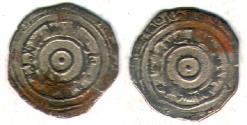 Ancient Coins - ITEM #1447 FATIMID, AL-AZIZ AH 365-386, AR SILVER 1/2 DIRHAM, MINT & DATE MISSING! (SCARCE) , ALBUM 705