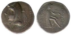 Ancient Coins - Item#19646, KINGS OF PARTHIA, MITHRIDATES I (CA 164-132 BC). AR silver DRACHM, NISA MINT, Sellwood 9.1, SHORE 7, SUNRISE 251, RARE (hard to find)