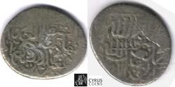 World Coins - Item #32335 Safavid (Persian Dynasty) Isma'il I (AH 907-930) silver tanka, Ruyan (Royan mint, No Date, Album #2586 scarce type very rare mint, from the Founder of Safavid dynasty!!