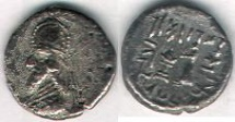 Ancient Coins - ITEM #47143 KINGS OF PERSIS, Darev II (Dara) CA. FIRST CENTURY BC AR 1/2 drachm, ALRAM 565, TYLER-SMITH 11, Sear 6207