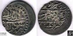 World Coins - ITEM #32341 AFGHAN OCCUPATION OF ISFAHAN, MALIK MAHMUD SISTANI (HOTAKI) 1135-1137 AH), SILVER abbasi, ISFAHAN MINT, 1135 AH, RARE COIN. ALBUM 2716 (type A), KM 326