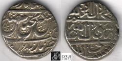 Ancient Coins - Item #34152, IRANIAN silver coin, Karim Khan Zand, Rupi (10-shahi), Mazandaran mint (NOT DATED) Type A, KM #512, Album #2793 type A (SCARCE) EXTRA FINE