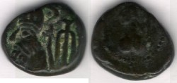 Ancient Coins - Item #5364 Ancient Persia, Elymais Dysnasty, Orodes III (2nd century AD), AE drachm, (De Morgan Types 25.1), van't Haaff 16.2-1-2B