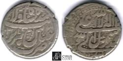 World Coins - ITEM #32365, SAFAVIDS (PERSIAN DYNASTY) SHAH ABBAS I, THE GREAT (AH 995-1038) SILVER ABBASI, TABRIZ MINT, AH 1031 (AD 1622), ALBUM 2634.4 (fine calligraphy) VERY FINE grade