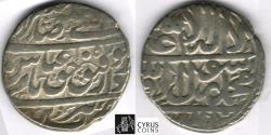 World Coins - ITEM #32374 SAFAVID (Persian DYNASTY) ABBAS II (AH 1052-1077) SILVER ABBASI, Tabriz MINT, AH 1057 (AD 1647), ALBUM #2646 TYPE B, KM #169.1 (TYPE B1) peculiar ZERO!! XF