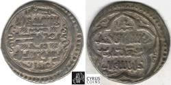 Ancient Coins - ITEM #31145 ILKHANID (PERSIAN MONGOLS) ABU SA'ID (AH 716-736) AR SILVER 2-DIRHAM, Wasit MINT, AH 722 , ALBUM 2204 (TYPE D), DILER AB #502 AS GOOD IT GETS, Dark Toning