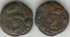 Ancient Coins - Item #5327, Ancient Persia, Elymais Dysnasty, PRINCE β (Circa 198-224 AD), AE drachm, (De Morgan type 60) VERY RARE TYPE!! UNPUBLISHED/UNRECORDED!!