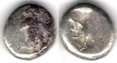 Ancient Coins - Item #1105,  Ancient Persian Empire Achaemenid Kings, (IRAN) Silver siglos,  Time of Darius I to Xerxes II. Ca. 485-420 BC