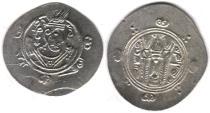 Ancient Coins - Item #5135, IRANIAN silver coin, Abbasid Governors of Tabaristen, JARIR,  1/2 dirham, (PYE 135/170AH/AD786) Album #64 (RARE)