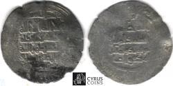World Coins - Item #3066,, GREAT Seljuq: Barkiyaruq, AH 486-498 (AD 1093-1105), AR silver dirham, Ahwaz mint, date missing, Album 1682C, EXTEMELY RARE (RRR)