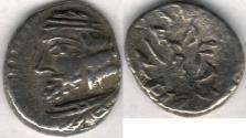 Ancient Coins - Item #47108 Kings of Persis, VAHSHIR (Oxathres) ca. 2nd half of first century BC, AR hemidrachm, Alram 586, Tyler-Smth CN (2004) #111