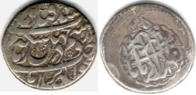 Ancient Coins - ITEM #34106, IRANIAN SILVER COIN, KARIM KHAN ZAND, 2-ABBASI, KIRMAN MINT (DATELESS) TYPE C, KM #523, ALBUM 2796. SCARCE MINT BUT STILL AFFORDABLE!