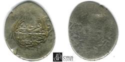 Ancient Coins - ITEM #32437 SAFAVID DYNASTY: MUHAMMAD KHUDABANDAH (AH 985-995) SILVER 2-SHAHI / or muhammadi, QAZVIN MINT, AH992 (AD1585), ALBUM 2624 WITH COUNTERMARK ON an unknown host coin