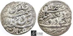 World Coins - Item #32333 Afghan occupation of Iran, Ashraf Hotaki (1137-1142 AH), silver Abbasi, only struck in Isfahan, 1140 AH,  scarce type D. Album 2721 KM 339