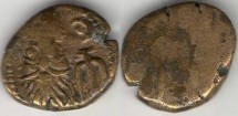 Ancient Coins - Item #5306, Ancient Persia, Elymais Dysnasty, Orodes I (Circa 130-147 AD), AE drachm, (De Morgan type 46)