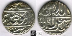 World Coins - ITEM #32375 SAFAVID (Persian DYNASTY) ABBAS II (AH 1052-1077) SILVER ABBASI, Tabriz MINT, AH 1056 (AD 1646), ALBUM #2646 TYPE B, KM #169.1 (TYPE B1) peculiar ZERO!! XF