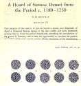 Ancient Coins - Item 3965, Original Off-prints A Hoard of Sienese Denar from the Period c. 1180-1230 by D. M. Metcalf Published in The Numismatic Chronicle Vol. XI (1971) 5 pages & one plate