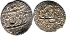Ancient Coins - ITEM #34123, IRANIAN SILVER COIN, KARIM KHAN ZAND, ABBASI, SHIRAZ MINT, DATED AH1178 (AD1765), TYPE B, KM #515, Album 2799