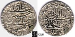 Ancient Coins - ITEM #32490, SAFAVID DYNASTY: SHAH SULTAN HUSSEIN or Husayn (AH 1105-1135) SILVER ABBASI, ISFAHAN MINT, AH1132 (AD1719), ALBUM #2683.2, KM 282 (type D), affordable piece of history