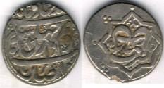 Ancient Coins -    Item #3473, IRANIAN silver coin, Karim Khan Zand, 2-Abbasi, Rasht (11XXAH) Type C, KM #523