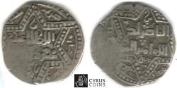 World Coins - ITEM #3065 Khwarizmshahs (Medieval Persia), 'Ala al-Din Muhammad 596-617AH AR dirham, (Ghazna?) mint, AH 614 AD (1217 AH) Album 1720, scarce /RARE