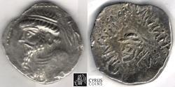 Ancient Coins - Item 5367, KINGS of ELYMAIS. Kamnaskires V. (ca. 54-33 BC). AR tetradrachm (28 mm, 15.58 gr.), vant' Haaff 9.1.7, Alram 463, Sunrise ---