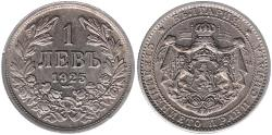 World Coins - Bulgarien 1 Lew, 1925
