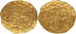 Kaiser Johannes II. Komnenus. 1137-1143. AU Hyperpyron. Very rare! 4,50.g
