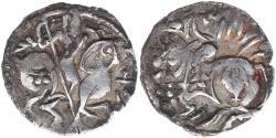 Ancient Coins - Shahis (Shahiyas). Spalapati. Circa 750-900. AR Jital (21mm, 3.35 g,).