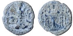 Ancient Coins - Ancient SASANIAN KINGDOM: Shahpur II, 309-379, lead pashiz (1.81 g/ 14mm), NM, ND, G-—, standard design, , Fine