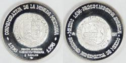World Coins - MEXICO, 1971 Silver First Coinage Medal, Gem Proof