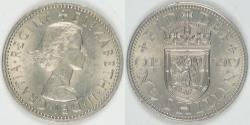 World Coins - GREAT BRITAIN, Elizabeth II, 1959 Shilling, Almost Uncirculated