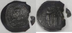 Ancient Coins - BYZANTINE EMPIRE, Alexius I Comnenus (1081-1118 AD), 1081-82 AD, Silver Histamenon Nomisma, graded Good Very Fine by ACCS