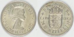 World Coins - GREAT BRITAIN, Elizabeth II, 1953 Shilling, BU