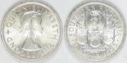 World Coins - SOUTHERN RHODESIA - British Colony, 1953 Crown, Choice BU