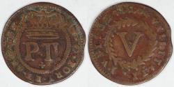 World Coins - PORTUGAL - Kingdom, Pedro II, 1699, 5 Réis, Fine
