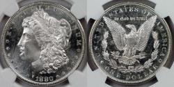Us Coins - 1880-S Morgan Dollar graded MS-65 PL by NGC