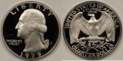 Us Coins - 1979-S Washington Quarter (Type 2 - clear 'S'), Gem Proof Deep Cameo