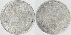 World Coins - GERMANY - Hamburg, 1726 IHL, 16 Schilling, about EF