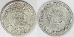 World Coins - MOZAMBIQUE - Portuguese Colony, 1960, 5 Escudos, Choice EF